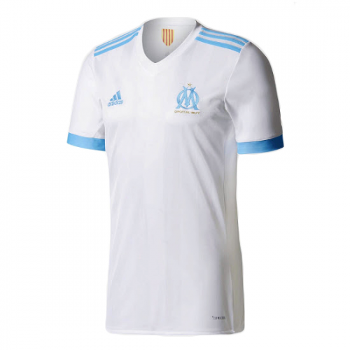 Olympique Marseille 2017/18 Home Soccer Jersey