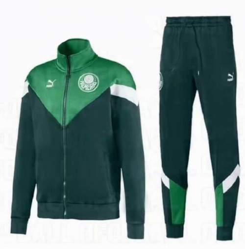 Palmeiras 19/20 Tracksuits Training Jacket Top Green with Pants