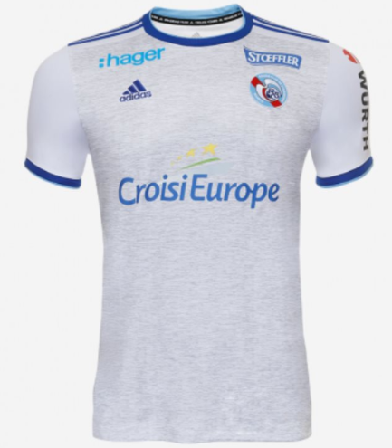 RC Strasbourg Alsace 19/20 Away Soccer Jersey