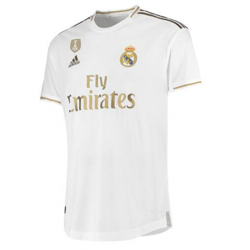 Player Version Real Madrid 19 20 Home Soccer Jersey With Golden Badge Model 198384 Real Madrid Cheap Football Kits Custom Made Discount Replica Shirts Cheap Soccer Jerseys Wholesale Training Jacket Hoodie
