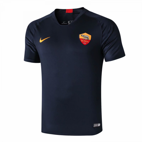 Roma 19/20 Training Jersey Shirt Dark Blue