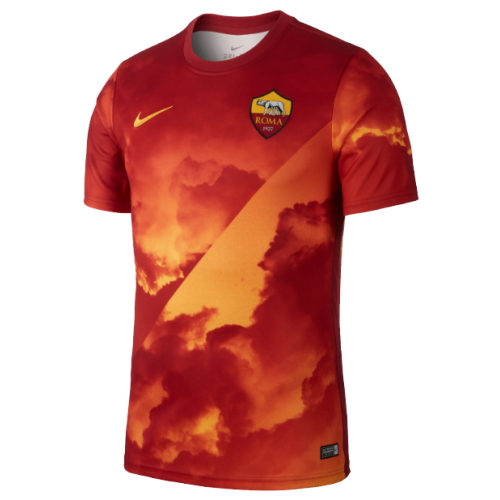 Roma 19/20 Training Jersey Shirt Orange